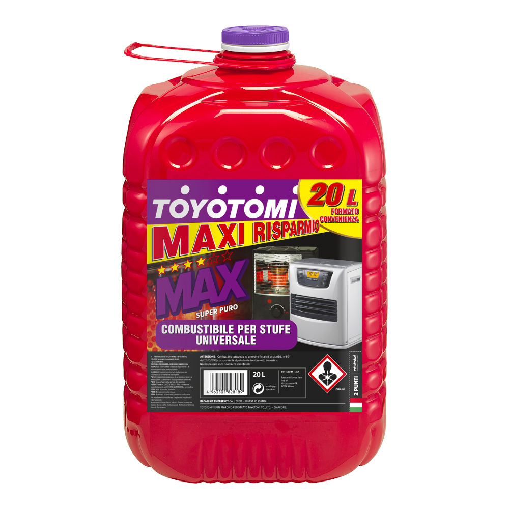 Toyotomi Max 20 Ltr Premium combustible
