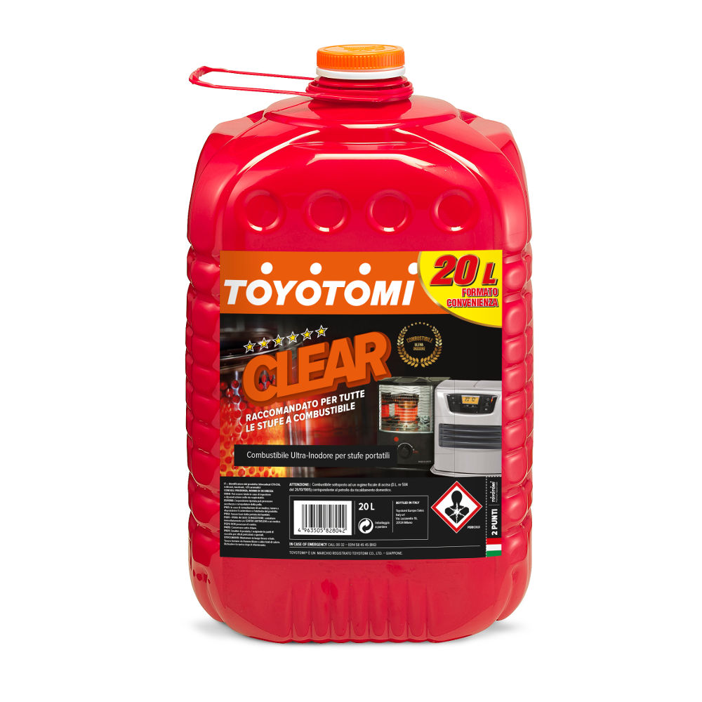 Toyotomi Clear 20 Ltr Premium combustible