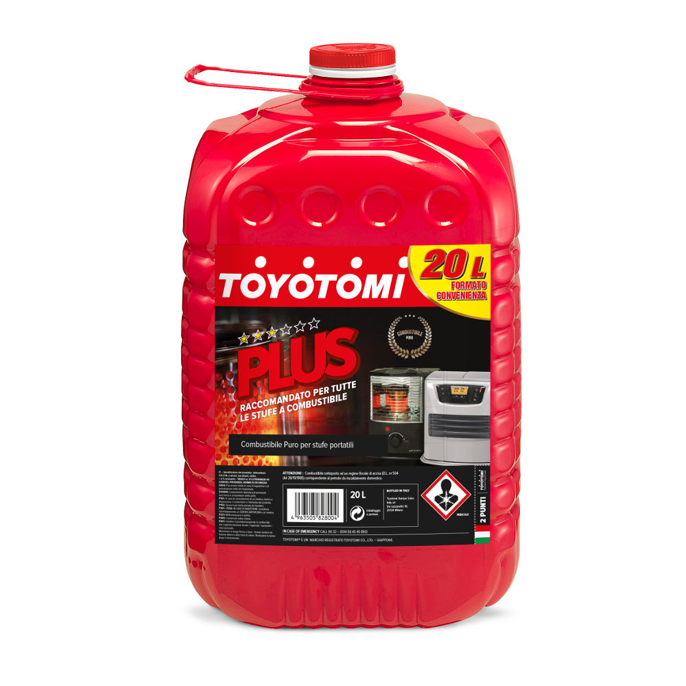 Toyotomi Plus 20 Ltr Premium combustible